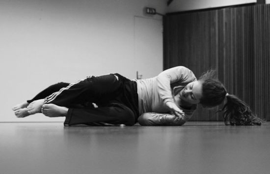 Contact improvisatie en floorwork