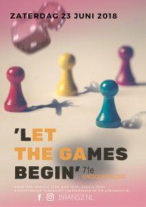'Let the games begin'- Musical, 71e Bransz leerlingenvoorstelling @ Theater Junushoff | Wageningen | Gelderland | Netherlands